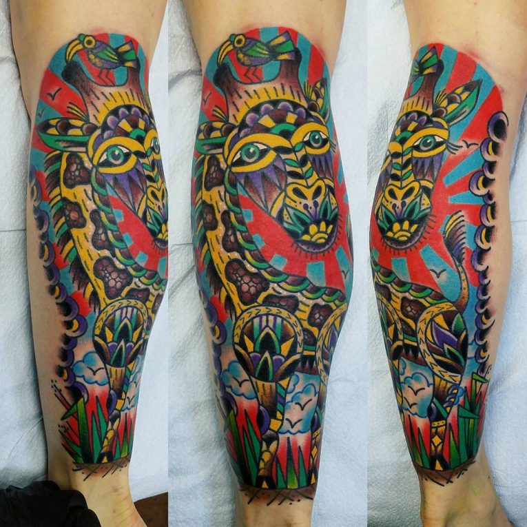 Giraffe Tattoo 116