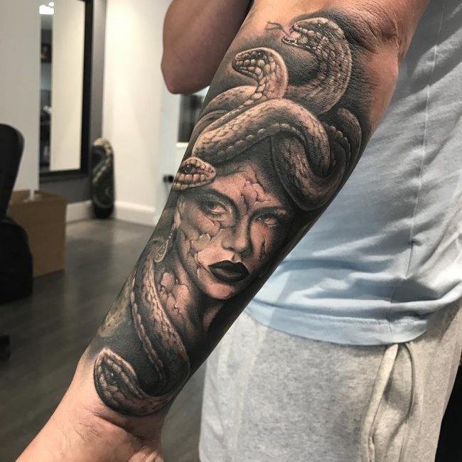 Greek God Mythology Tattoo 66