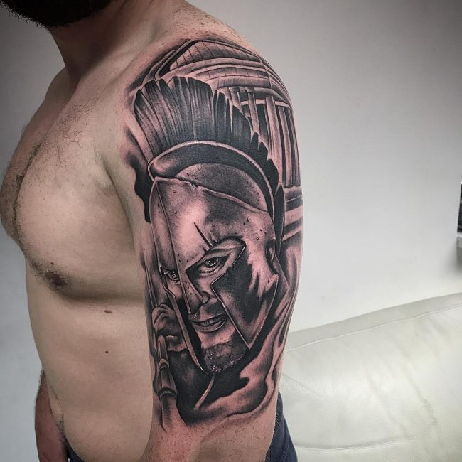 Greek God Mythology Tattoo 67