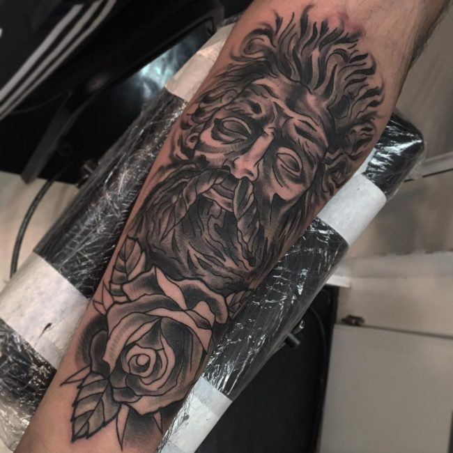 Greek God Mythology Tattoo 68