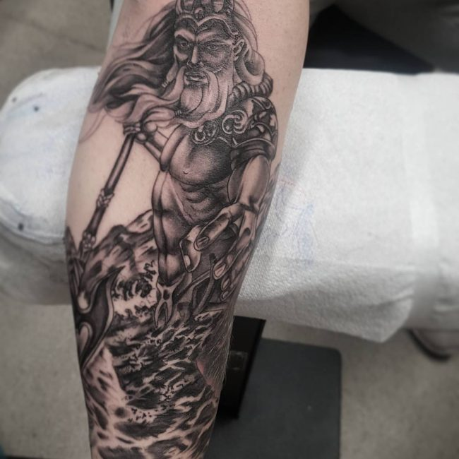Greek God Mythology Tattoo 69