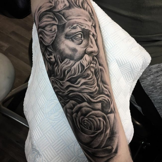 Greek God Mythology Tattoo 70