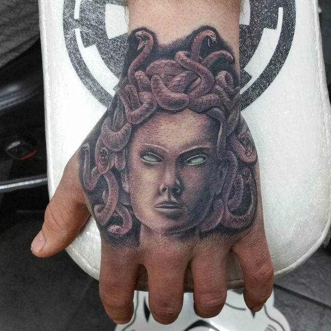 Greek God Mythology Tattoo 72