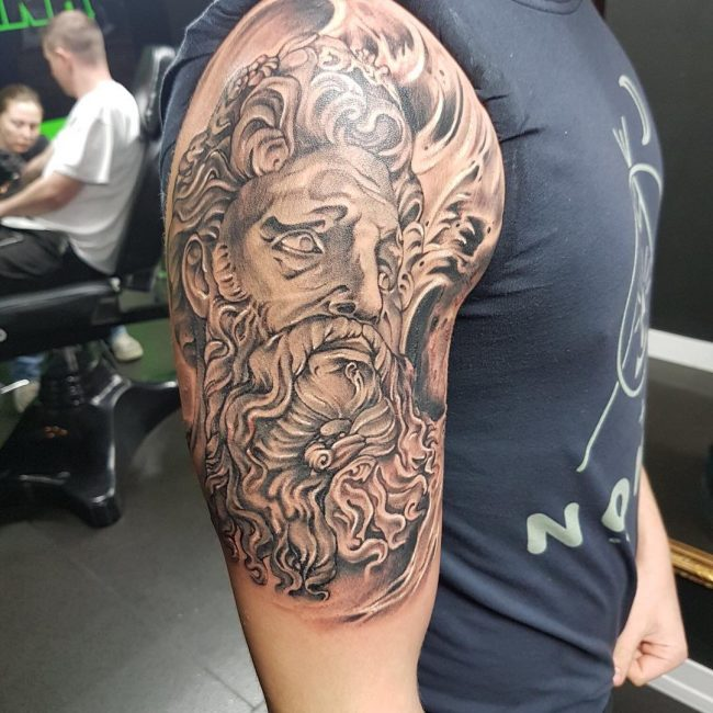 Greek God Mythology Tattoo 73