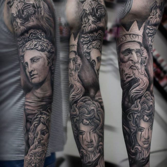 Greek God Mythology Tattoo 74
