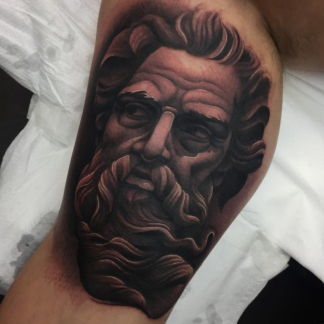 Greek God Mythology Tattoo 75