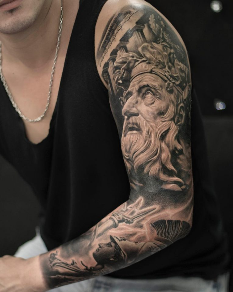 Greek God Mythology Tattoo 79