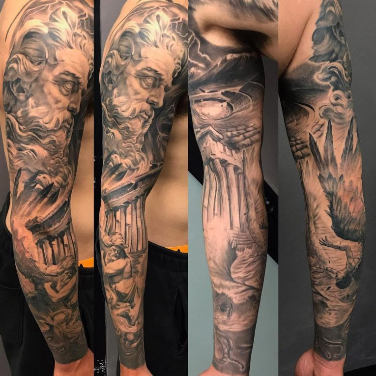 Greek God Mythology Tattoo 81