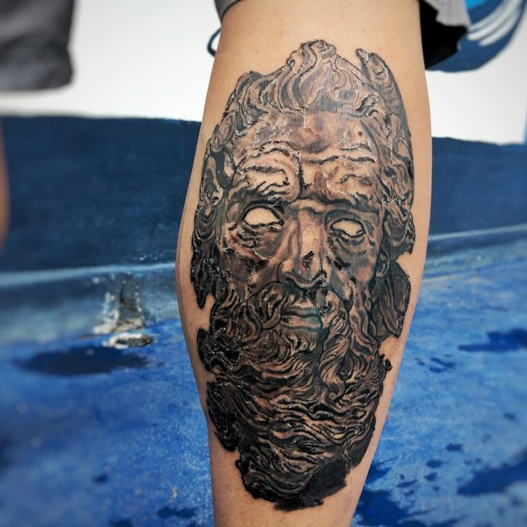 Greek God Mythology Tattoo 82