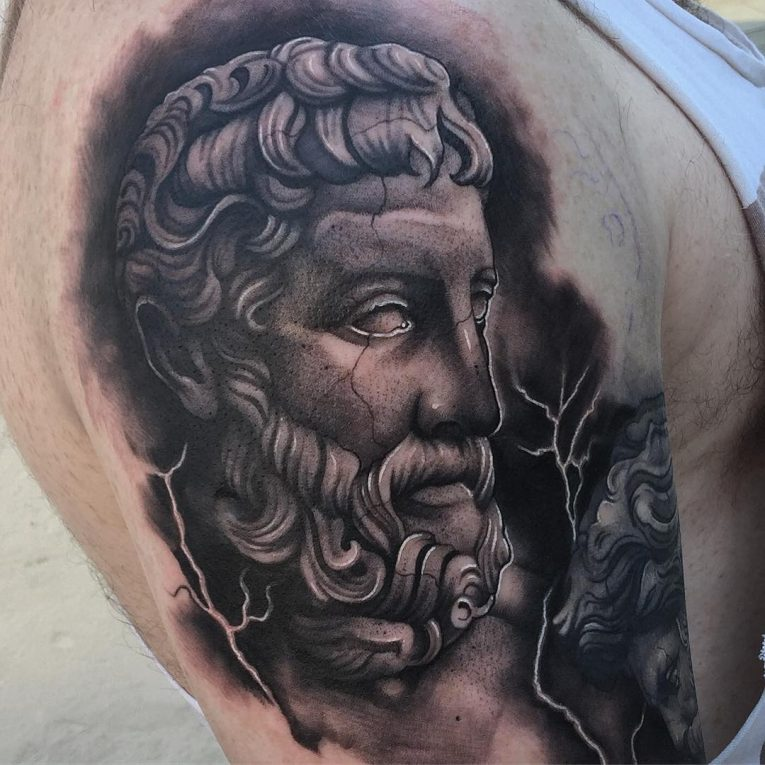 Greek God Mythology Tattoo 83