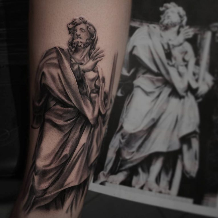 Greek God Mythology Tattoo 84