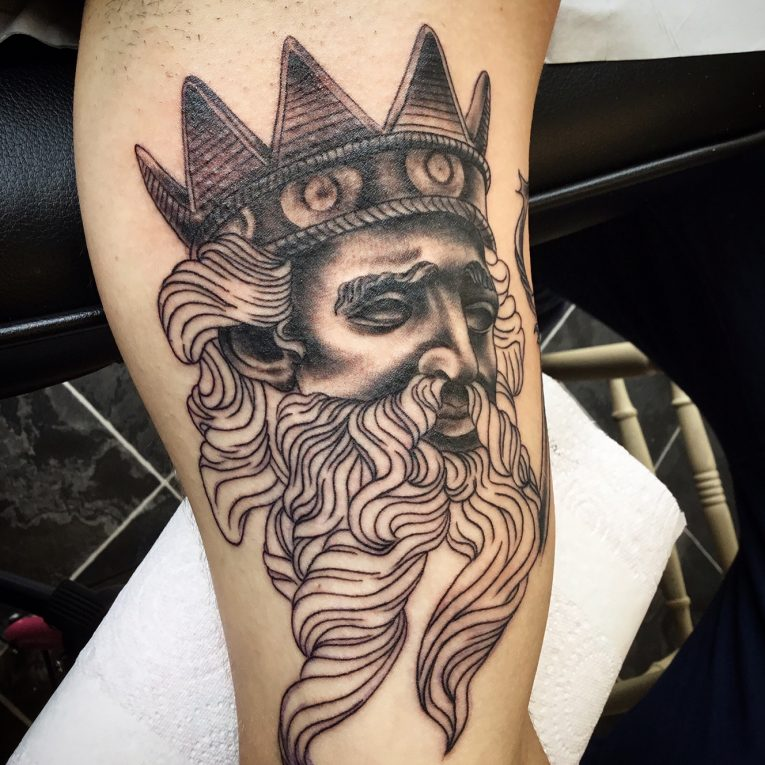 Greek God Mythology Tattoo 87