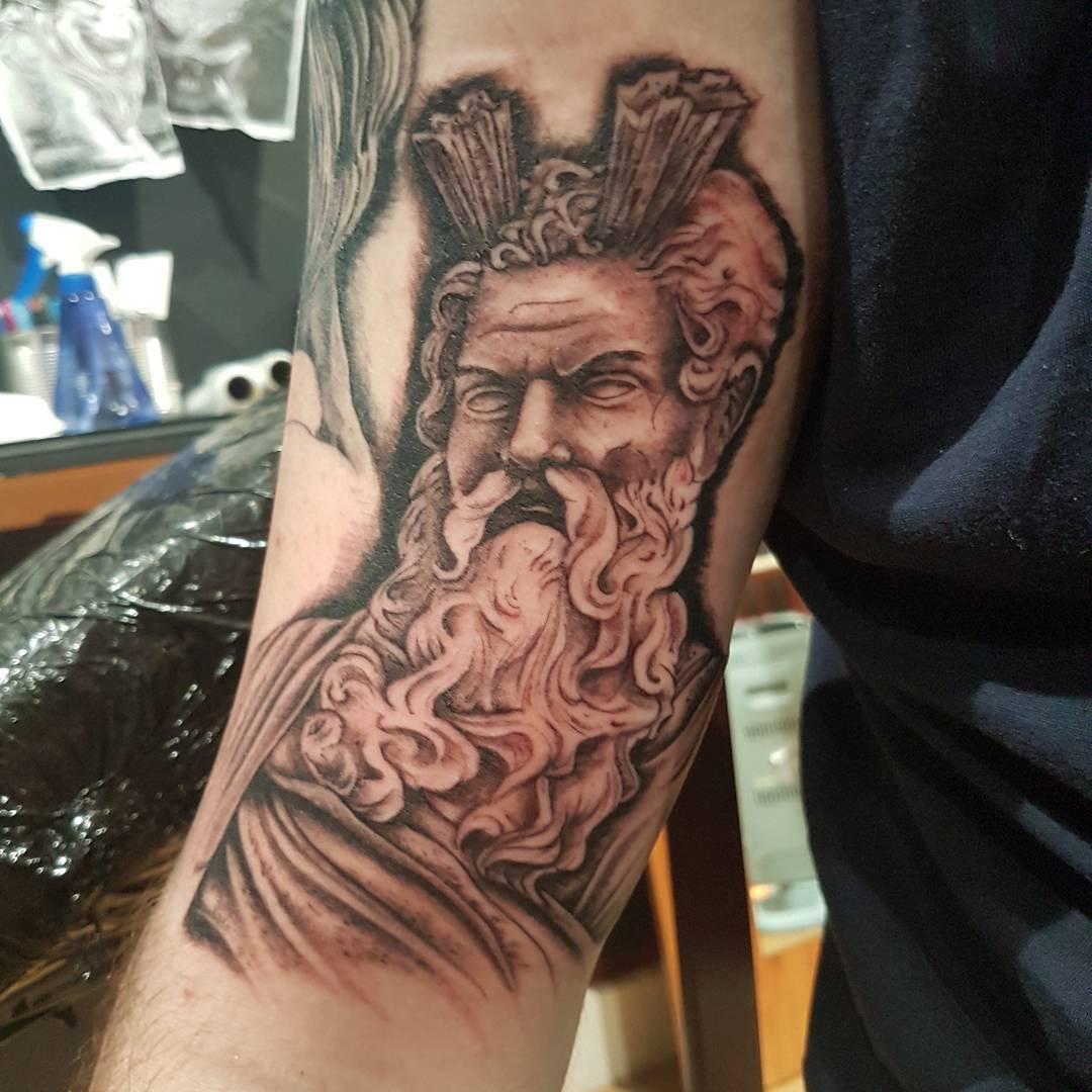 85 ancient greek god mythology tattoos symbols