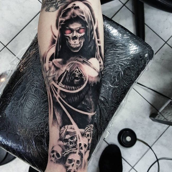 75 Creative Grim Reaper Tattoos