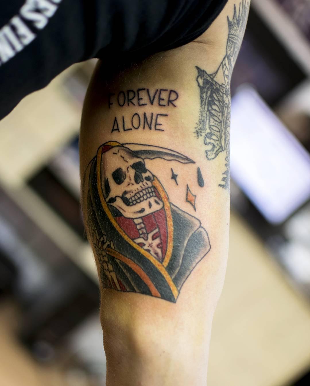 Tattoo Designs Grim Reaper