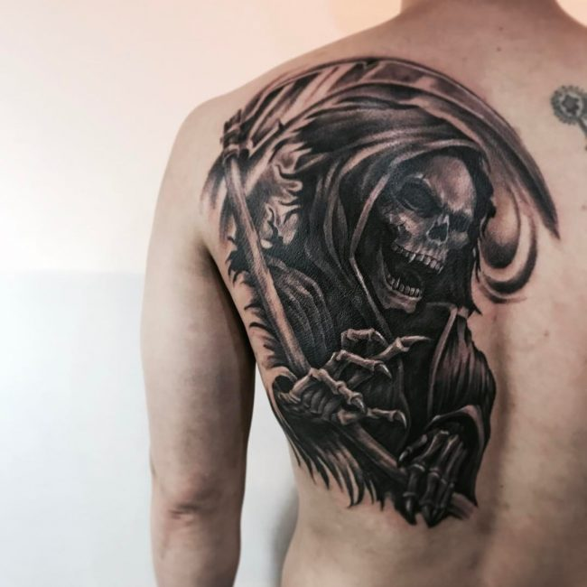 95 best grim reaper tattoo designs meanings 2018