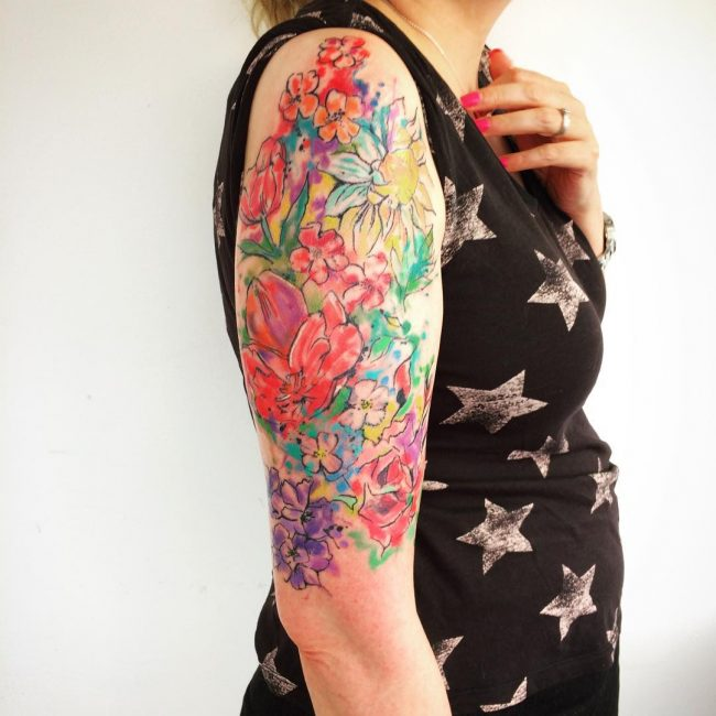 Half Sleeve Tattoo 75
