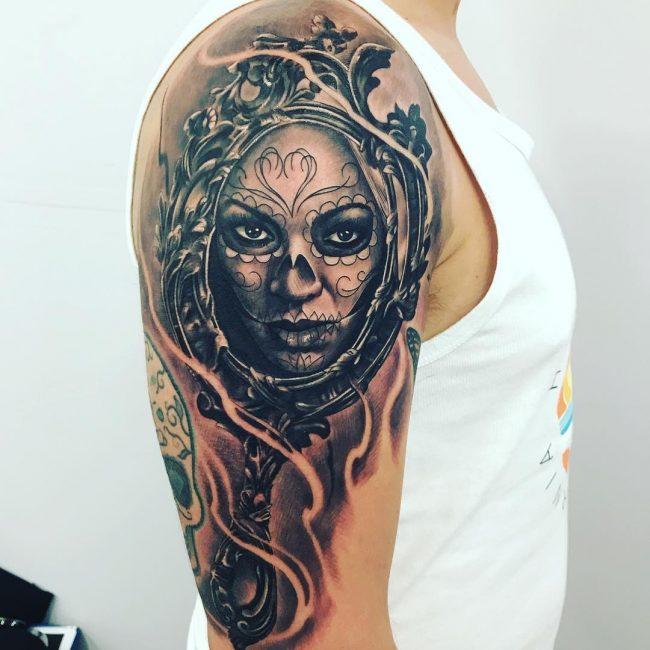 Half Sleeve Tattoo 77