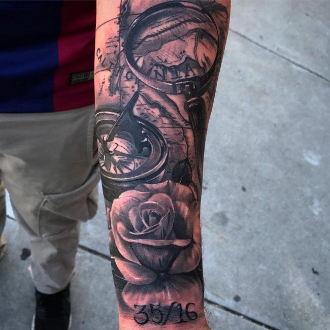 Half Sleeve Tattoo 79