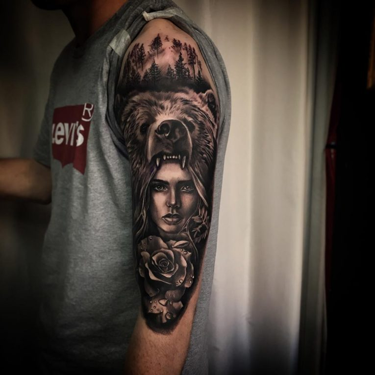 Half Sleeve Tattoo 82