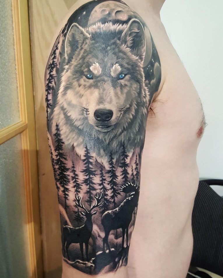 Half Sleeve Tattoo 85