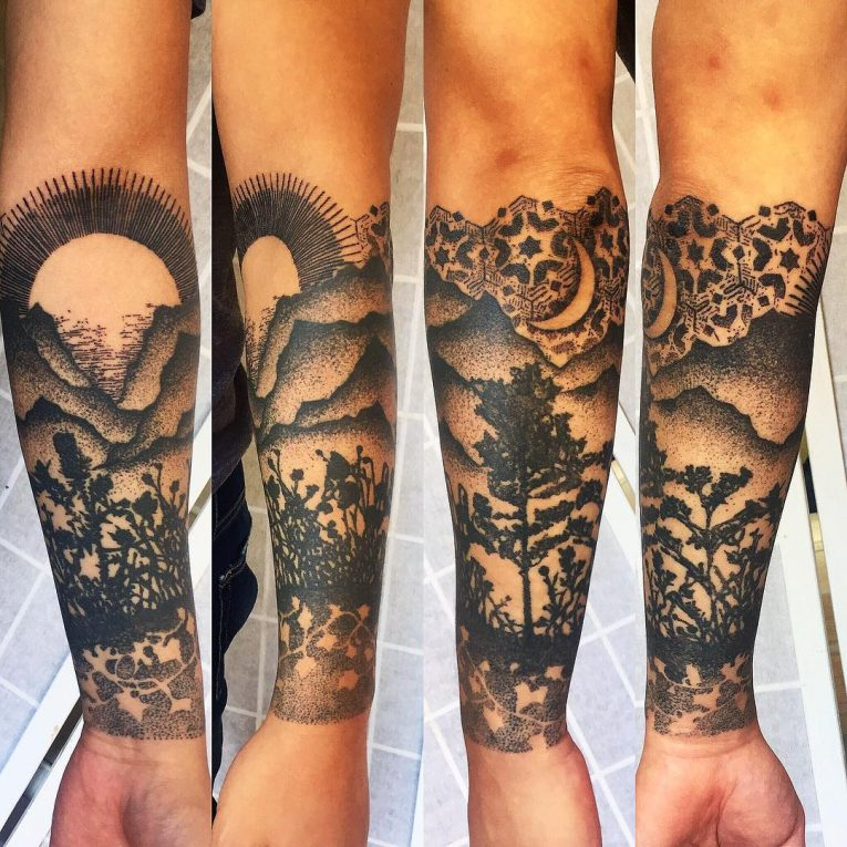 Half Sleeve Tattoo 87
