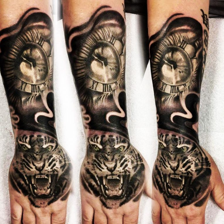 Half Sleeve Tattoo 88