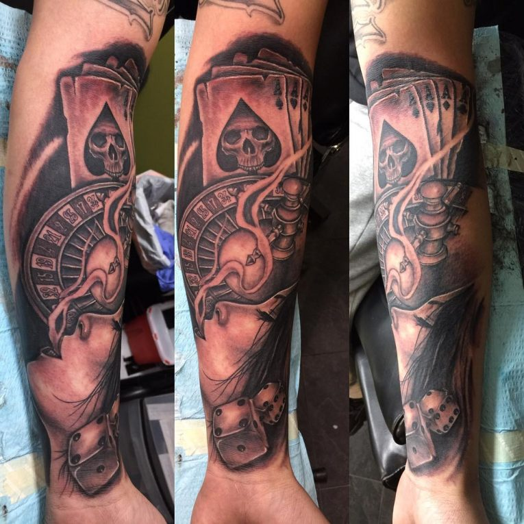 Half Sleeve Tattoo 89
