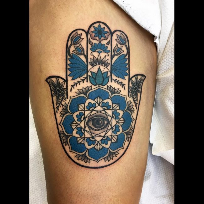 Hamsa Tattoo 62