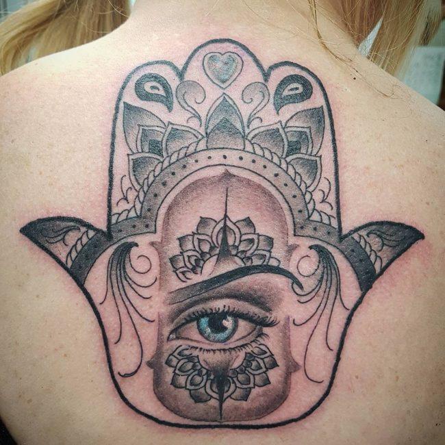 Hamsa Tattoo 63