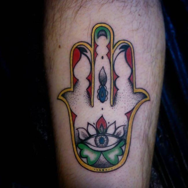 Hamsa Tattoo 68