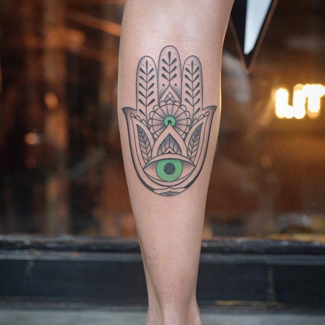 Hamsa Tattoo 70