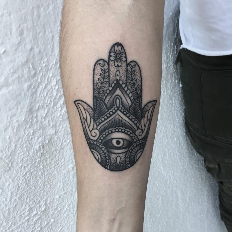 Hamsa Tattoo 78