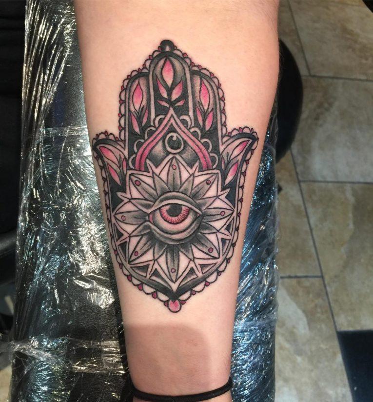 Hamsa Tattoo 79