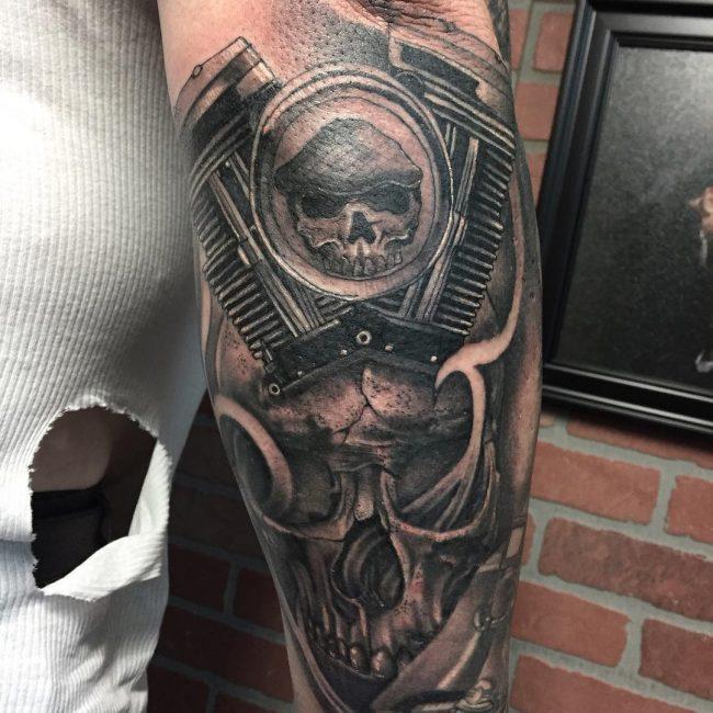 Harley Davidson Tattoo 76