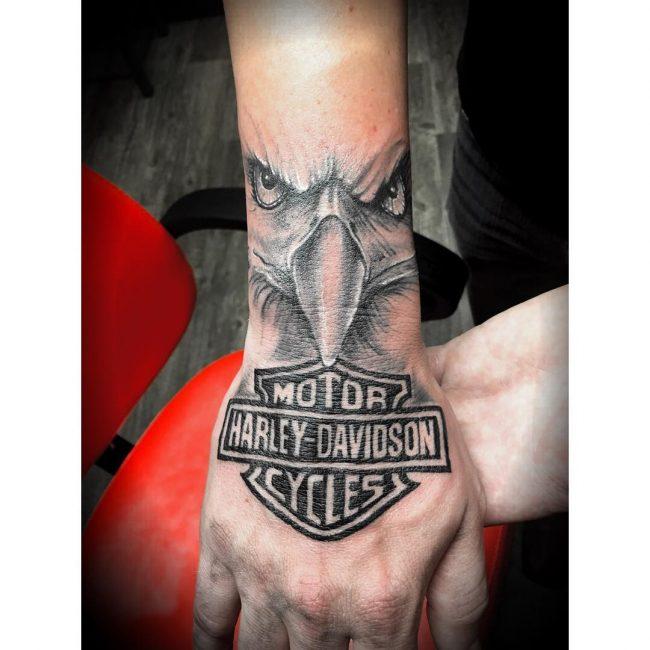 Harley Davidson Tattoo 77