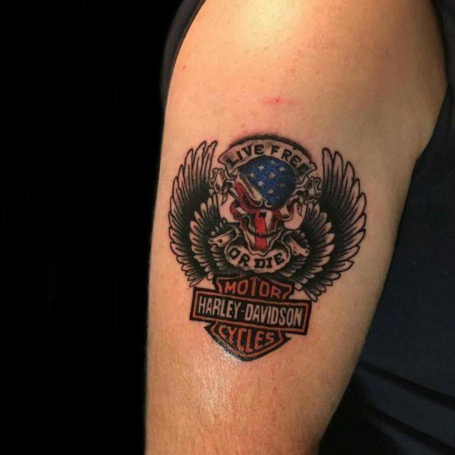 Harley Davidson Tattoo 78