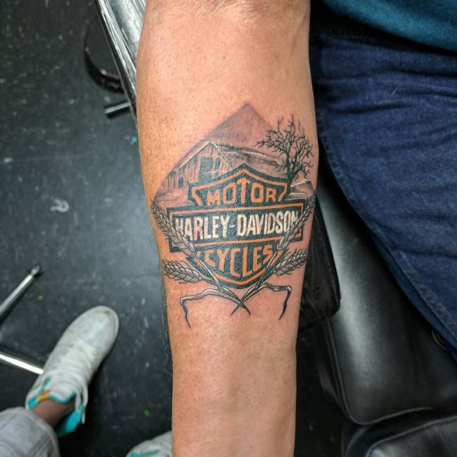 Harley Davidson Tattoo 80