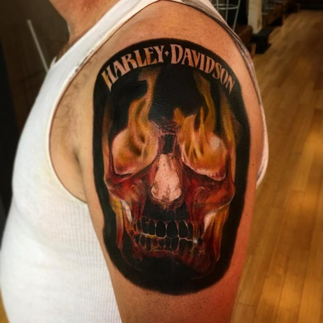 Harley Davidson Tattoo 81