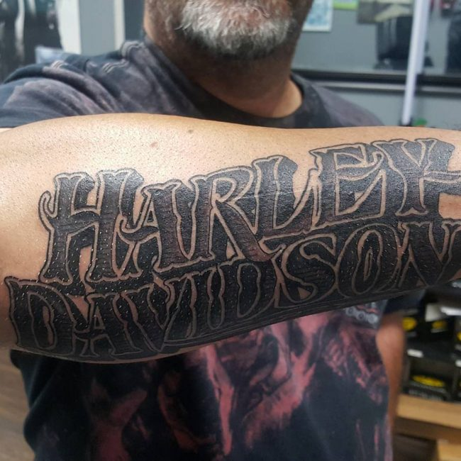 Harley Davidson Tattoo 85