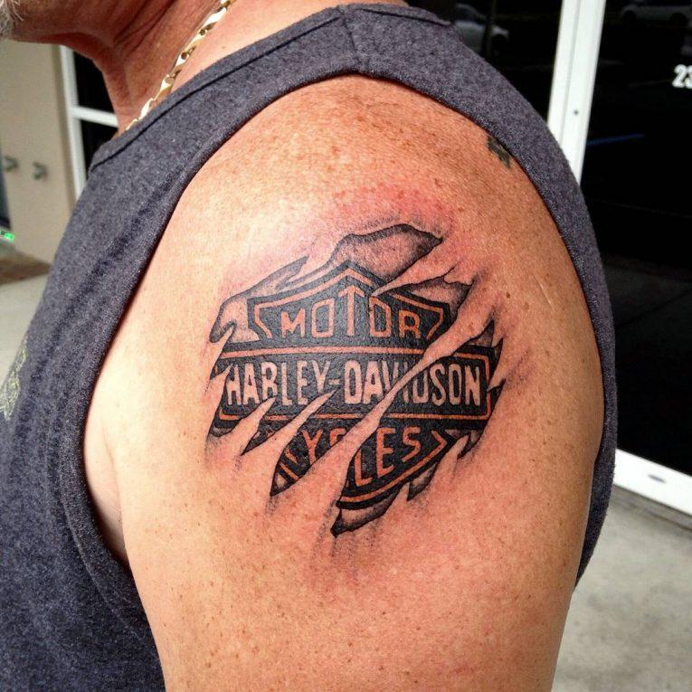 Harley Davidson Tattoo 87