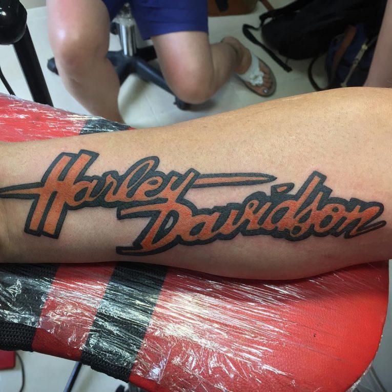Harley Davidson Tattoo 88