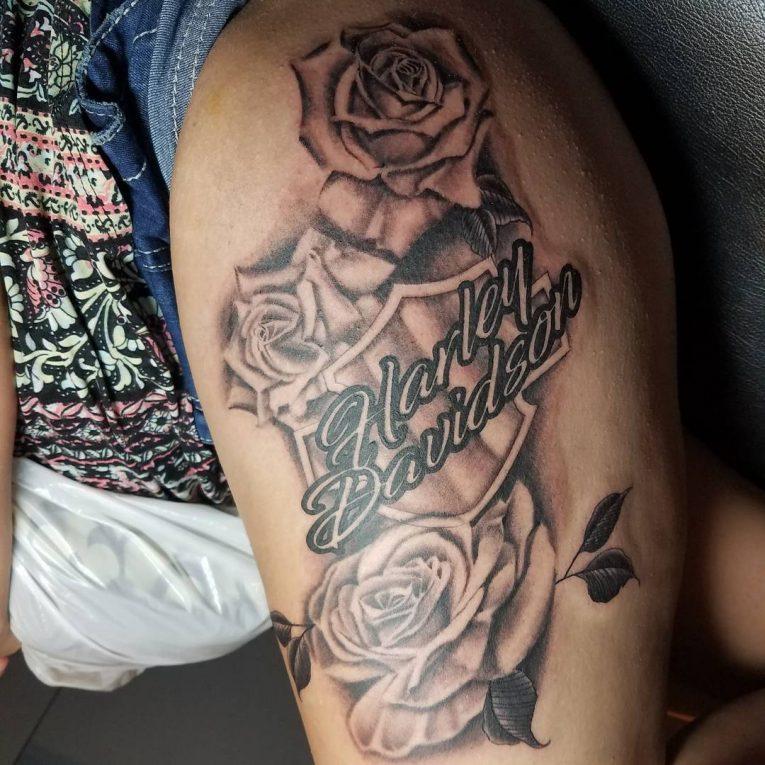 Harley Davidson Tattoo 94