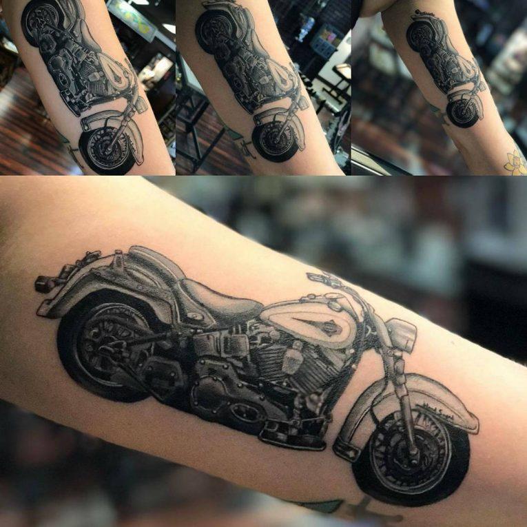 549114386 95+ Adventurous Harley Davidson Tattoos