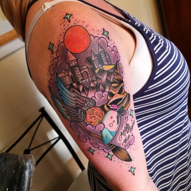Harry Potter Tattoo 91
