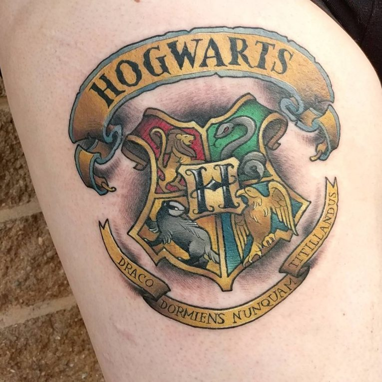 Harry Potter Tattoo 97