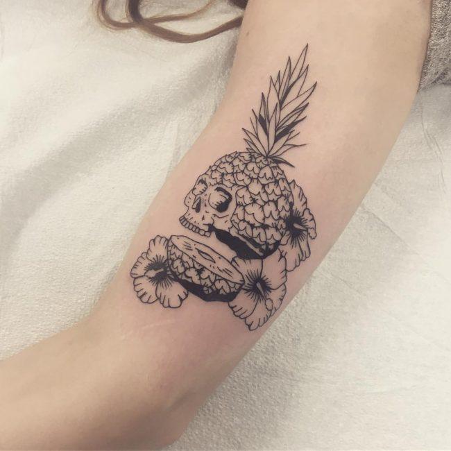 Hibiscus Flower Tattoo 57