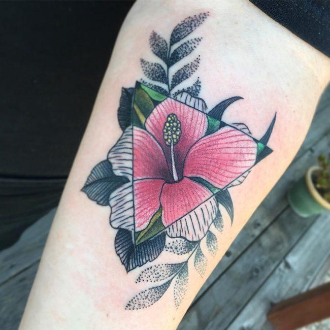 Flower Rank Tattoo