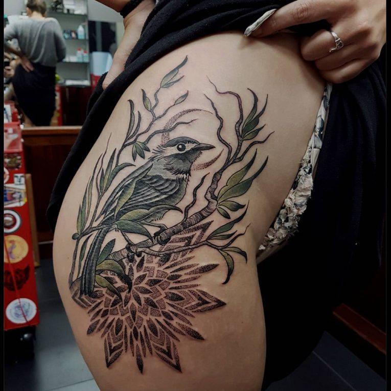 Hip Tattoo 105