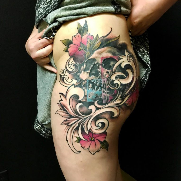 Hip Tattoo 107